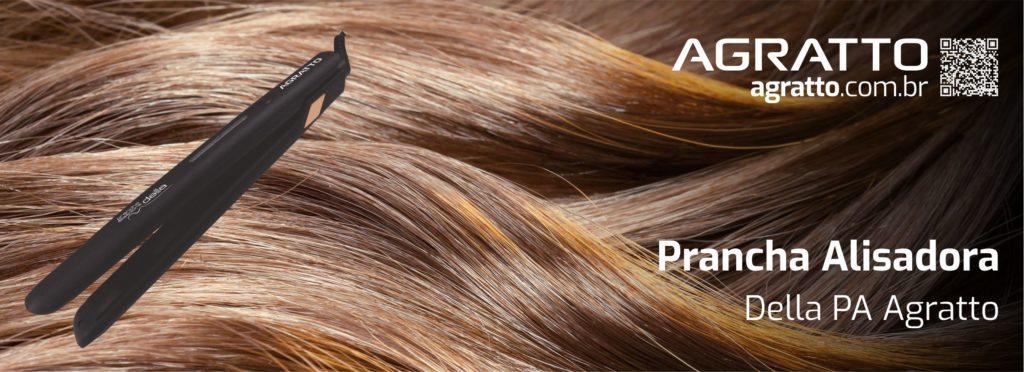 PRANCHA ALISADORA DELLA PA 03 PRETA 30W BIVOLT AGRATTO - Tokled Materiais  Elétricos